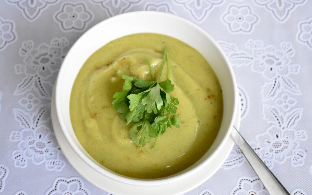 Pastinaak spinazie soep