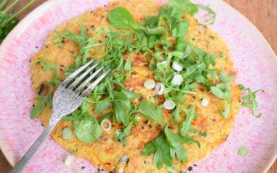 Quinoa groenten omelet