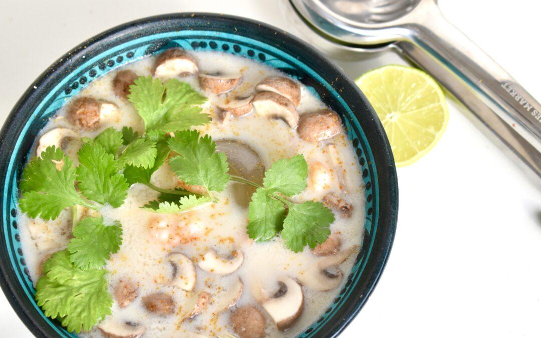 Thaise garnalen kokossoep