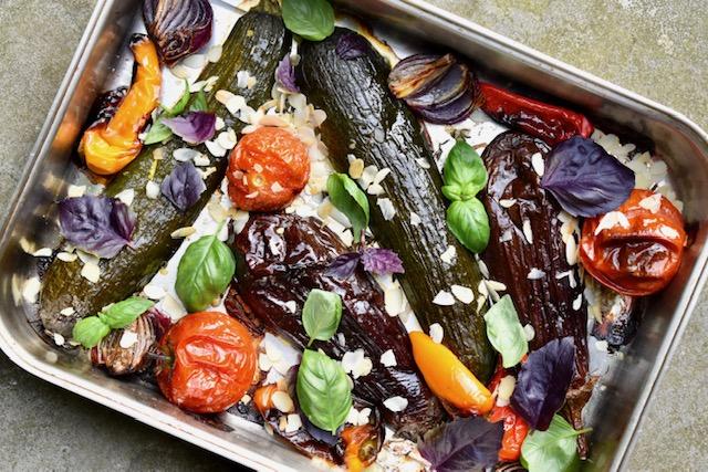 Veggies uit de oven