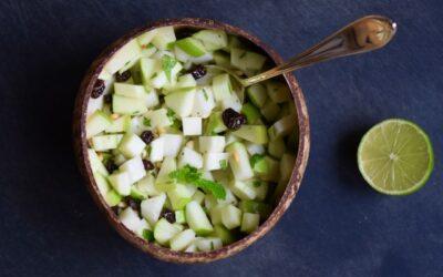 Koolrabi appel salade