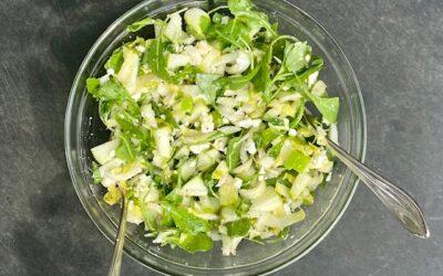 Witlof feta munt salade